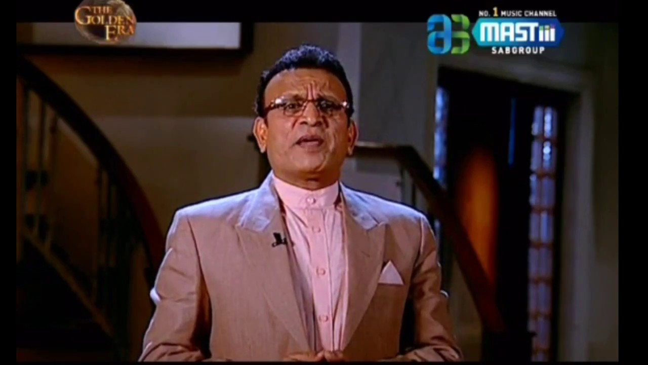 Annu Kapoor in The Golden Era with Annu Kapoor