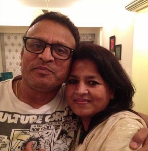 Annu Kapoor with his sister