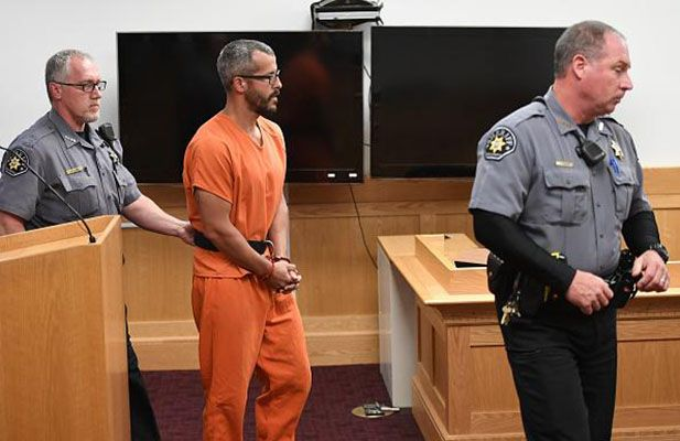 Chris Watts During a Court Hearing