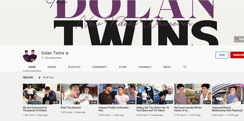 Dolan Twins - YouTube Channel