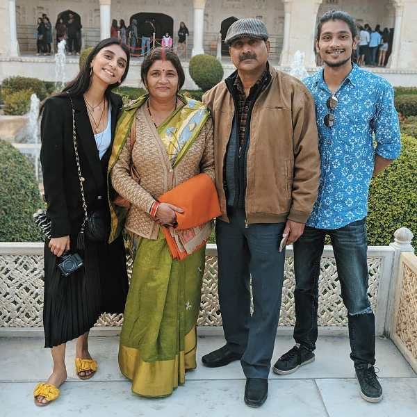 Dolly Singh with her family