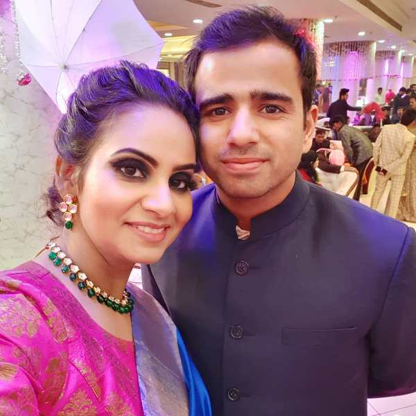 Gaurav Kapoor with his wife Shreya Sharma