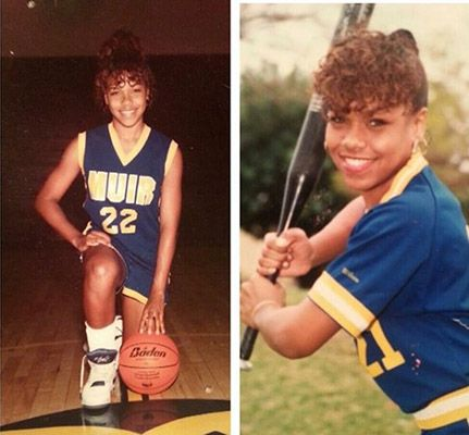 Gillian Iliana Waters High School Pictures as an Athlete