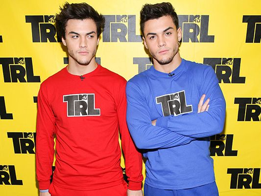 Grayson and Ethan Dolan on MTV's Total Request Live