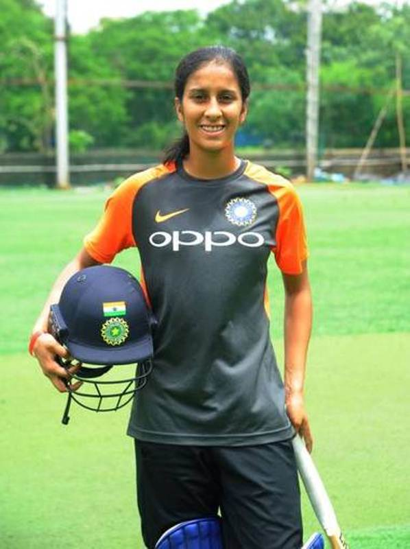 Jemimah Rodrigues after practice session