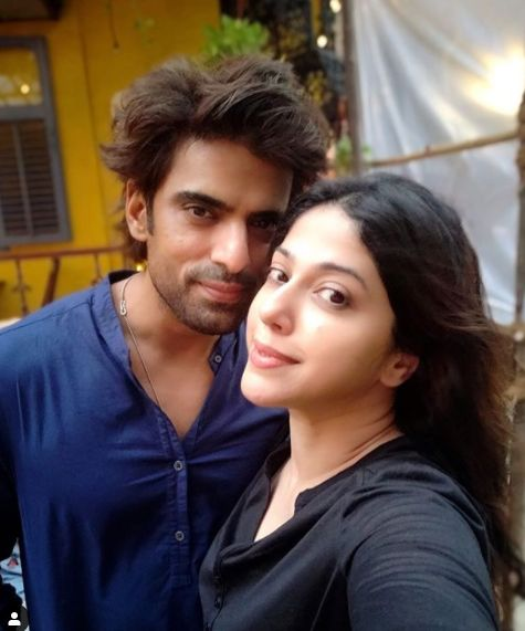 Mohit Malik and his wife