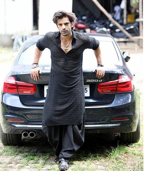 Mohit Malik with his car