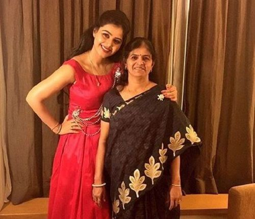 Monal Gajjar and Her Mother