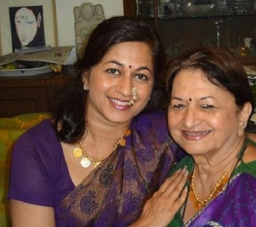Monisha Patil With Her Mother