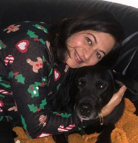 Monisha Patil With Her Pet Dog