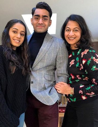 Monisha Patil and Her Children