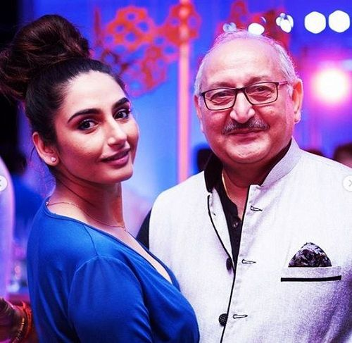 Ragini Dwivedi With Her Father
