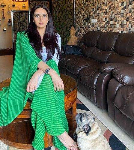 Ragini Dwivedi and Her Pet Dog