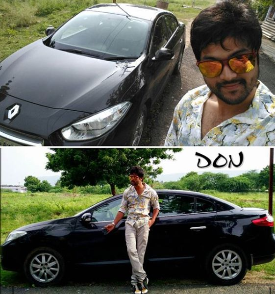 Syed Sohel Ryan with his car