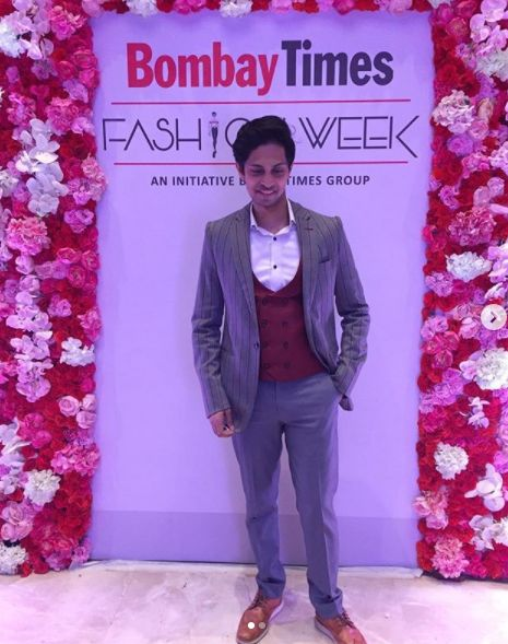 Tushar Pandey at Bombay Times Fashion Week
