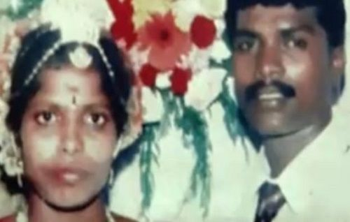 Vadivel Balaji and His Wife