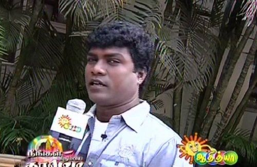 Vadivel Balaji in a TV Show