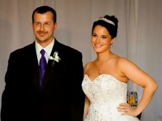 Wedding Picture of Shanann and Chris Watts