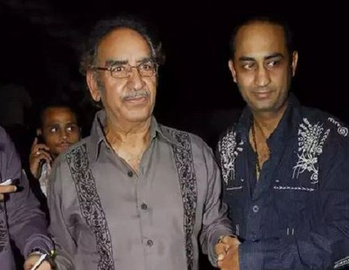 Anil Devgan With His Father