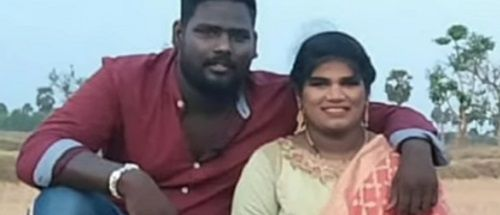 Aranthangi Nisha With Her Brother