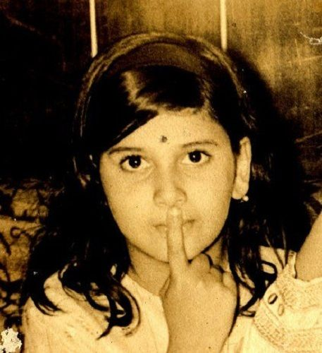 Deepali Issar's Childhood Picture