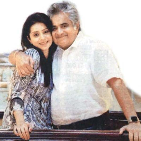 Harish Salve with his daughter Sakshi Salve