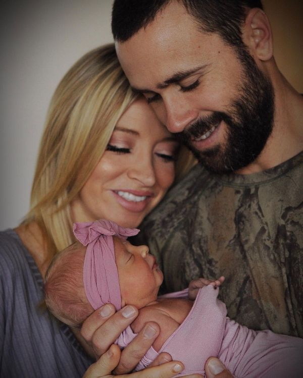 Kayleigh McEnany and her husband, Sean Gilmartin, welcoming their daughter, Blake Avery