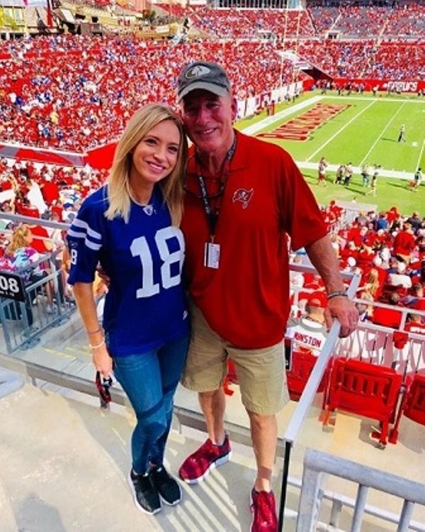 Kayleigh McEnany with her father, Michael McEnany