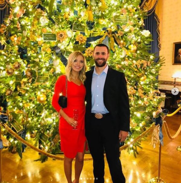 Kayleigh McEnany with her husband Sean Gilmartin