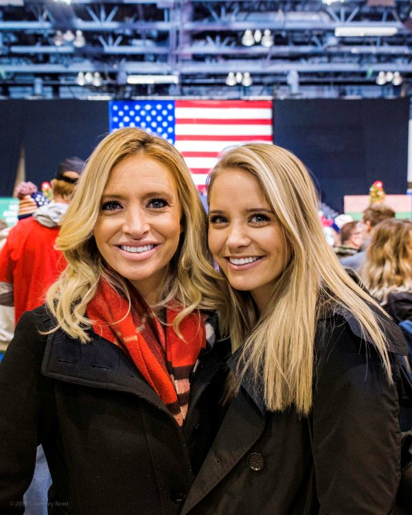 Kayleigh McEnany with her sister, Ryann Jessica McEnany
