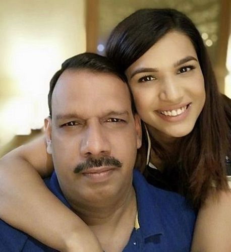 Naina Singh and Her Father