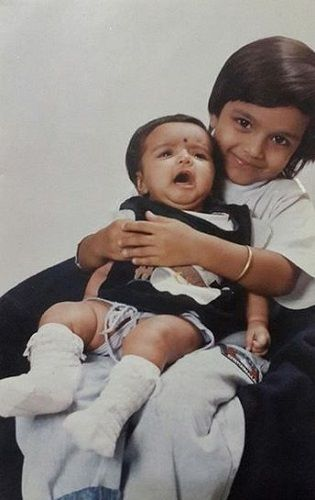 Nidhi Moony Singh's Childhood Picture With Her Sister