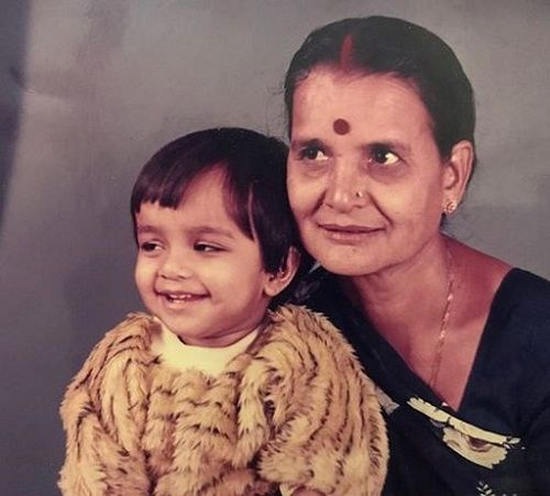 Nidhi Moony Singh's Childhood Picture