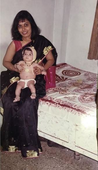 Nikki Tamboli's childhood picture with her mother