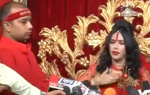 Radhe Maa in an Interview