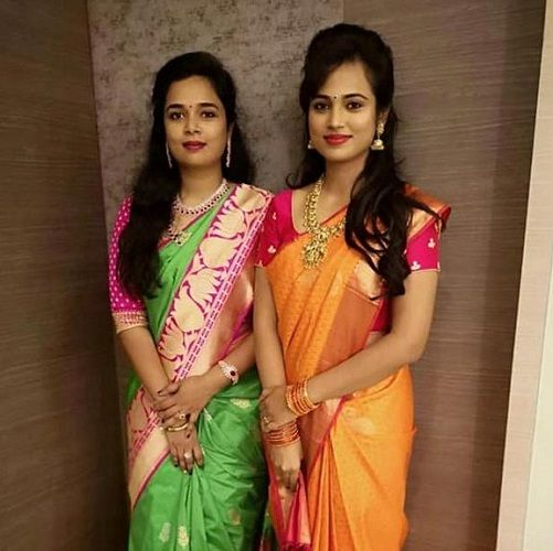 Ramya Pandian and Her Sister