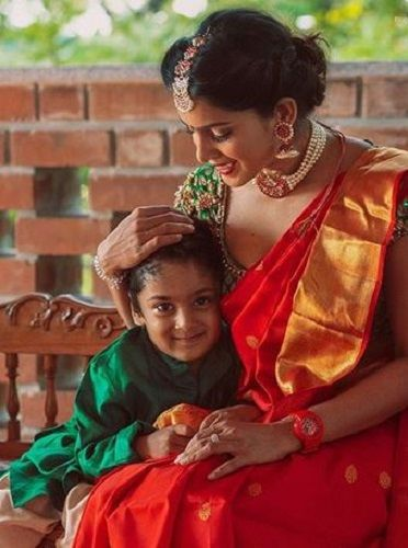 Samyuktha Karthik and Her Son