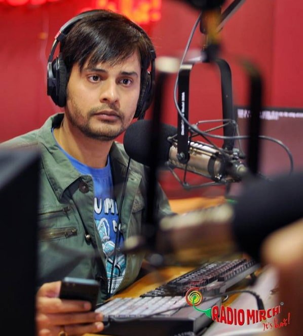 Shardul Pandit as a radio jockey