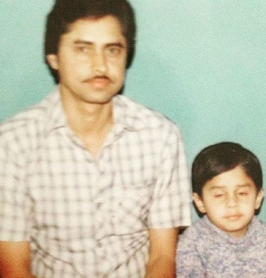 Shardul Pandit in childhood