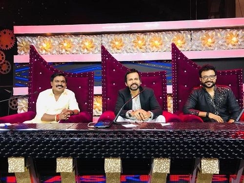 Velmurugan as a Judge in a TV Show