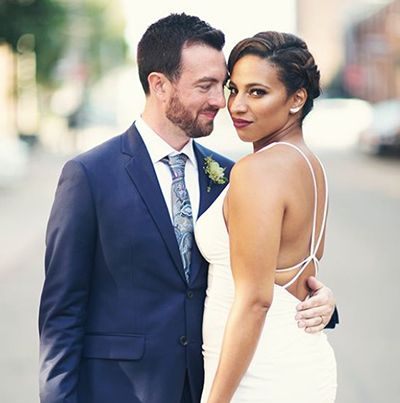 Wedding Photo of Sabryn Rock and Paul Robinson