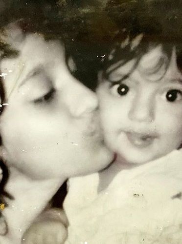 A Childhood Picture of Gashmeer Mahajani With His Sister