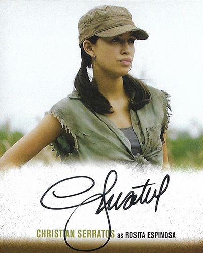 A Photograph Signed by Christian Serratos