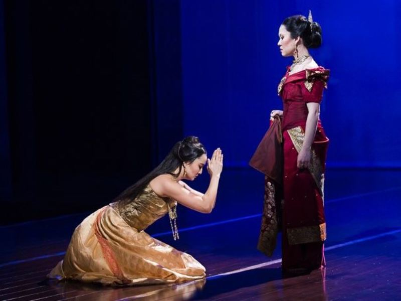 Ashley Park in the theatre play 'King And I' (2015)