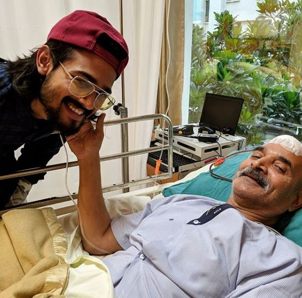 Bhuvan Bam with his father