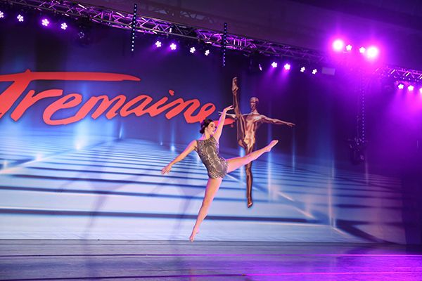 Charli D'Amelo Performing in Tremaine Dance Competitions