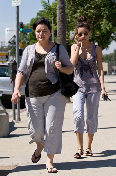 Christian Serratos with her Mother