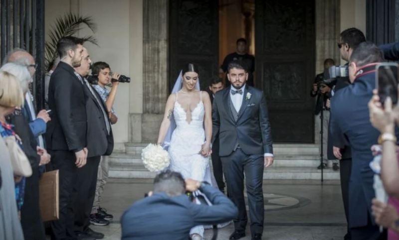 Diego Sinagra's wedding photo