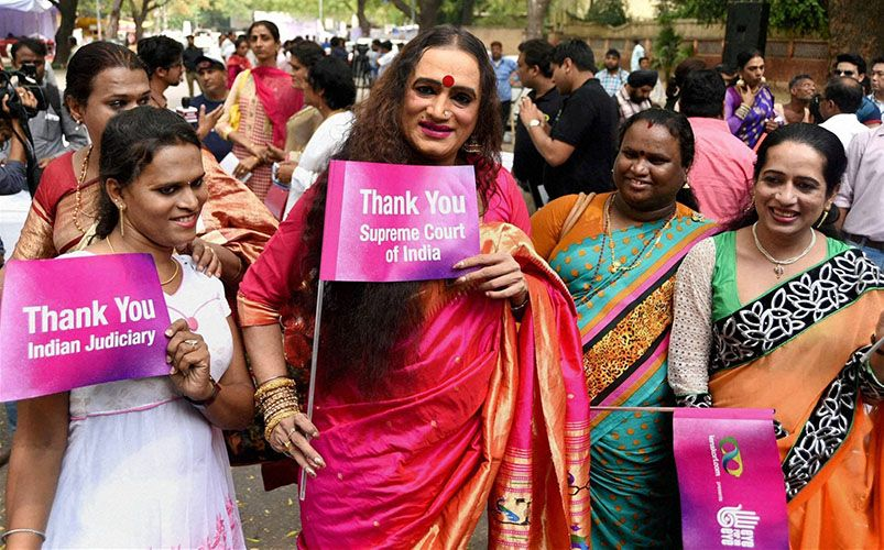 Laxmi Narayan Tripathi Thanking Supreme Court for Passing the Judgement in Recognition of India's Third Gender
