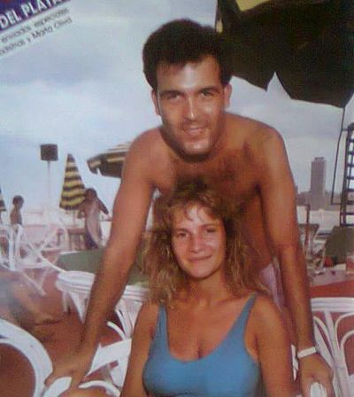 Lucia Galan with Guillermo Guido